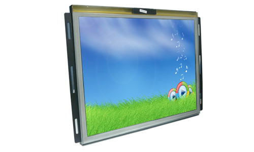 15 Inch Sunlight Readable Display , Outdoor Lcd Monitor Pcap Touch For Kiosk